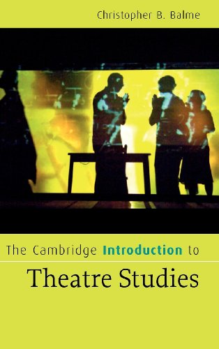 9780521856225: The Cambridge Introduction to Theatre Studies