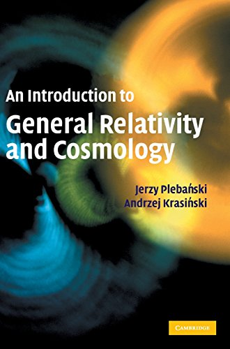 9780521856232: An Introduction to General Relativity and Cosmology