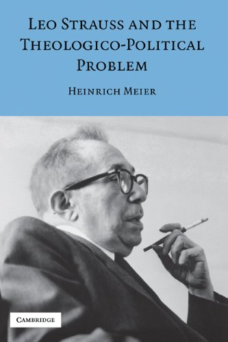9780521856478: Leo Strauss and the Theologico-Political Problem Hardback (Modern European Philosophy)