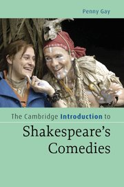 9780521856683: The Cambridge Introduction to Shakespeare's Comedies Hardback (Cambridge Introductions to Literature)