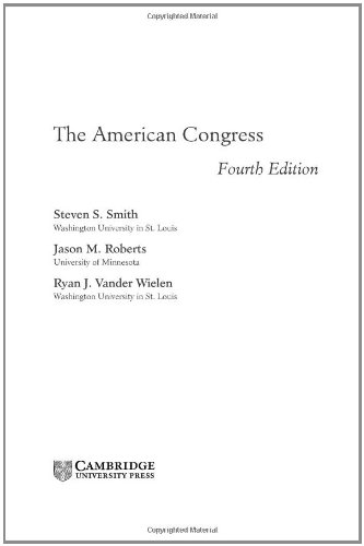 9780521856768: The American Congress