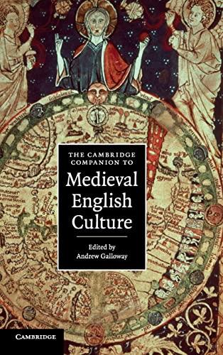 9780521856898: The Cambridge Companion to Medieval English Culture (Cambridge Companions to Culture)