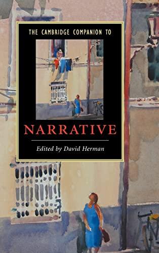 9780521856966: The Cambridge Companion to Narrative (Cambridge Companions to Literature)