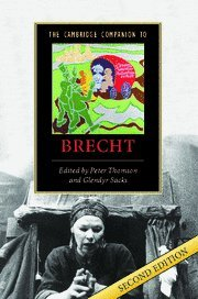 The Cambridge Companion to Brecht (Cambridge Companions to Literature)
