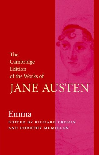 9780521857178: The Cambridge Edition of the Works of Jane Austen 3 Volume Hardback Set