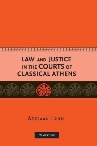9780521857598: Law and Justice in the Courts of Classical Athens Hardback