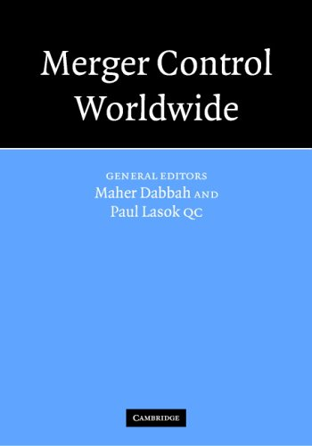 9780521857888: Merger Control Worldwide 2 Volume Hardback Set and Paperback Supplement to the First Volume