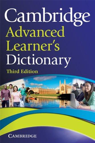 9780521858045: Cambridge advanced learner's dictionary