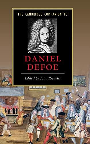9780521858403: The Cambridge Companion to Daniel Defoe