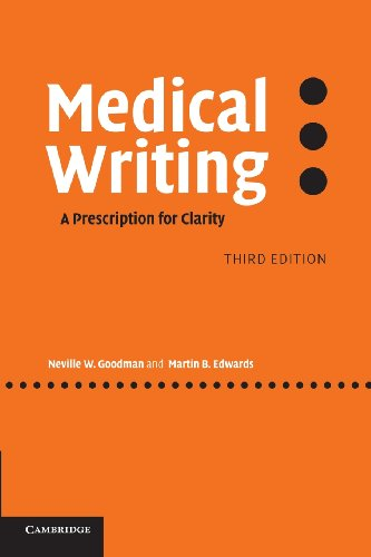 9780521858571: Medical Writing: A Prescription for Clarity