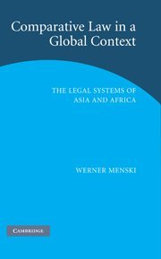 9780521858595: Comparative Law in a Global Context: The Legal Systems of Asia and Africa