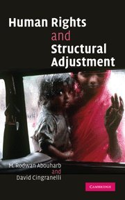9780521859332: Human Rights and Structural Adjustment