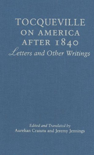 9780521859554: Tocqueville on America after 1840: Letters and Other Writings