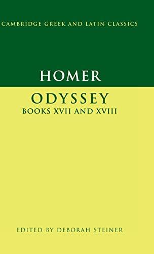 9780521859837: Homer: Odyssey Books XVII-XVIII (Cambridge Greek and Latin Classics)