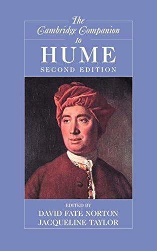 9780521859868: The Cambridge Companion to Hume 2nd Edition Hardback (Cambridge Companions to Philosophy)
