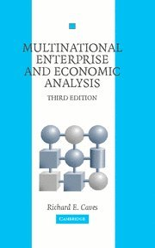 9780521860130: Multinational Enterprise and Economic Analysis 3rd Edition Hardback (Cambridge Surveys of Economic Literature)