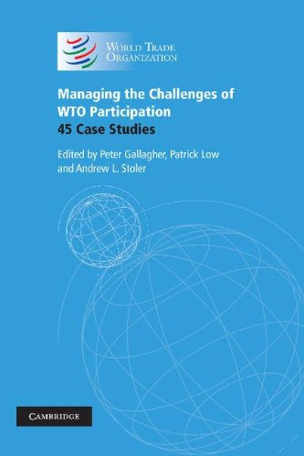 9780521860147: Managing the Challenges of WTO Participation: 45 Case Studies