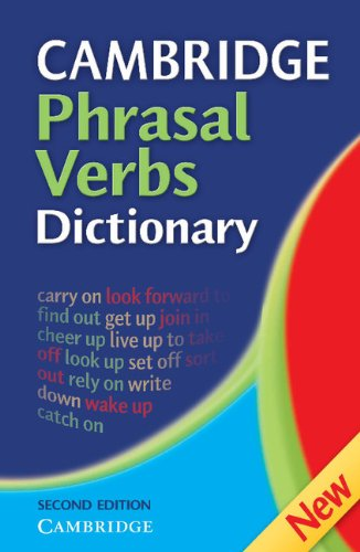 9780521860383: Cambridge Phrasal Verbs Dictionary