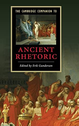 9780521860543: The Cambridge Companion to Ancient Rhetoric (Cambridge Companions to Literature)