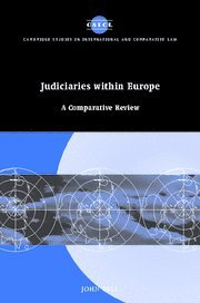 Judiciaries within Europe: A Comparative Review (Cambridge Studies in International and Comparative Law) (9780521860727) by John Bell