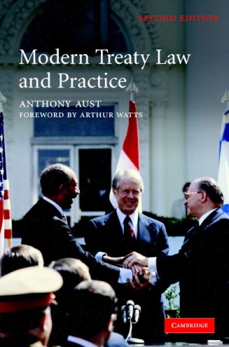 9780521860970: Modern Treaty Law and Practice
