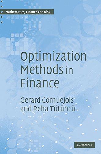 9780521861700: Optimization Methods in Finance (Mathematics, Finance and Risk)