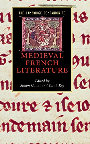 9780521861755: The Cambridge Companion to Medieval French Literature (Cambridge Companions to Literature)