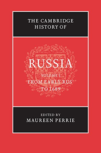 The Cambridge History Of Russia: Three Volume: Perrie, Maureen; Lieven,
