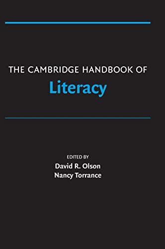 9780521862202: The Cambridge Handbook of Literacy (Cambridge Handbooks in Psychology)