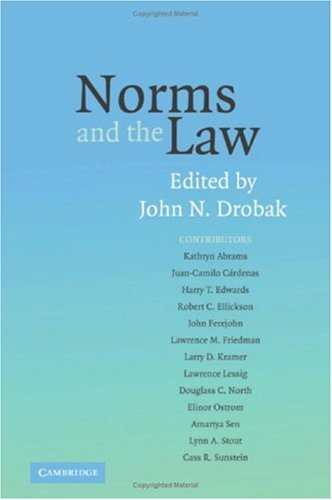 9780521862257: Norms and the Law