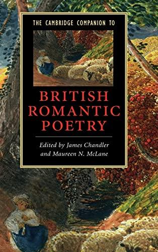 9780521862356: The Cambridge Companion to British Romantic Poetry (Cambridge Companions to Literature)
