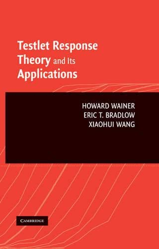 9780521862721: Testlet Response Theory and Its Applications Hardback