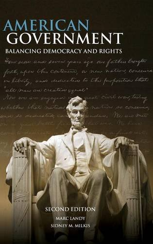 9780521862752: American Government: Balancing Democracy and Rights