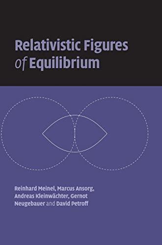 9780521863834: Relativistic Figures of Equilibrium