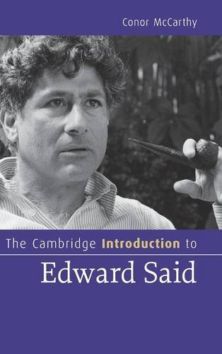 9780521864534: The Cambridge Introduction to Edward Said (Cambridge Introductions to Literature)