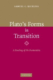 9780521864565: Plato's Forms in Transition: A Reading of the Parmenides