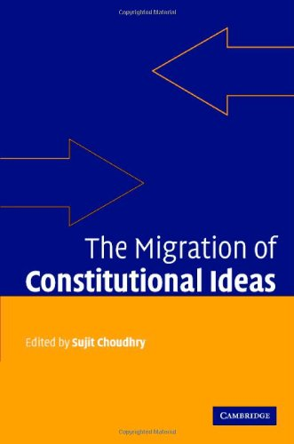 9780521864824: The Migration of Constitutional Ideas