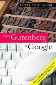 9780521864985: From Gutenberg to Google: Electronic Representations of Literary Texts