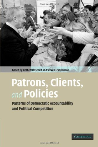 9780521865050: Patrons, Clients and Policies Hardback: Patterns of Democratic Accountability and Political Competition