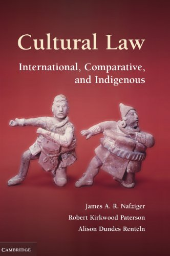 9780521865500: Cultural Law: International, Comparative, and Indigenous