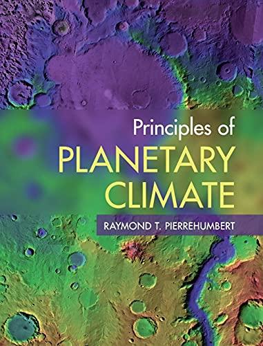9780521865562: Principles of Planetary Climate Hardback