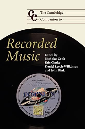 9780521865821: The Cambridge Companion to Recorded Music (Cambridge Companions to Music)