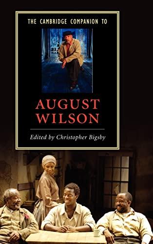 9780521866064: The Cambridge Companion to August Wilson (Cambridge Companions to Literature)