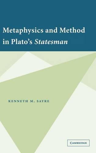 9780521866088: Metaphysics and Method in Plato's Statesman