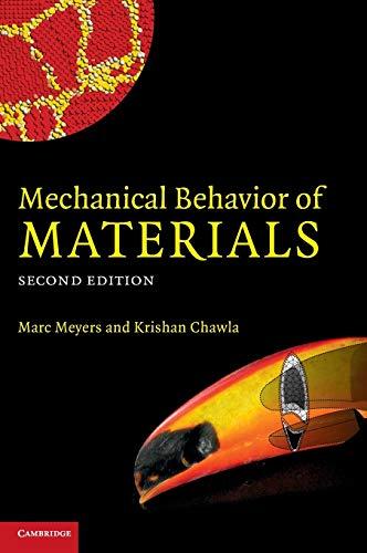 9780521866750: Mechanical Behavior of Materials