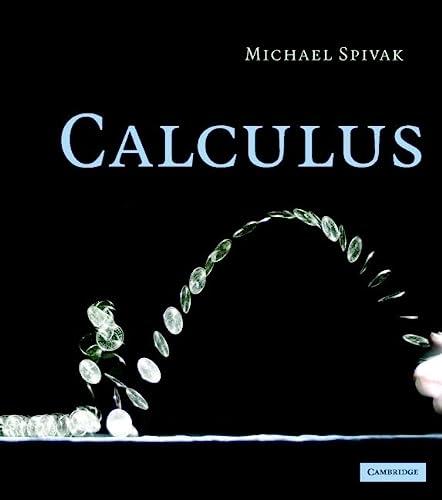 9780521867443: Calculus