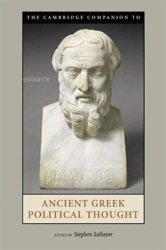 9780521867535: The Cambridge Companion to Ancient Greek Political Thought Hardback (Cambridge Companions to the Ancient World)
