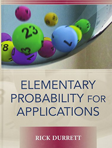 9780521867566: Elementary Probability for Applications