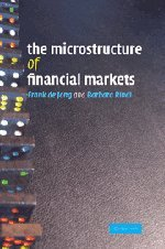 9780521867849: The Microstructure of Financial Markets Hardback (Quantitative Methods for Appli)