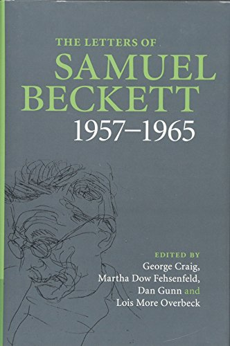 9780521867955: The Letters of Samuel Beckett: Volume 3, 1957-1965